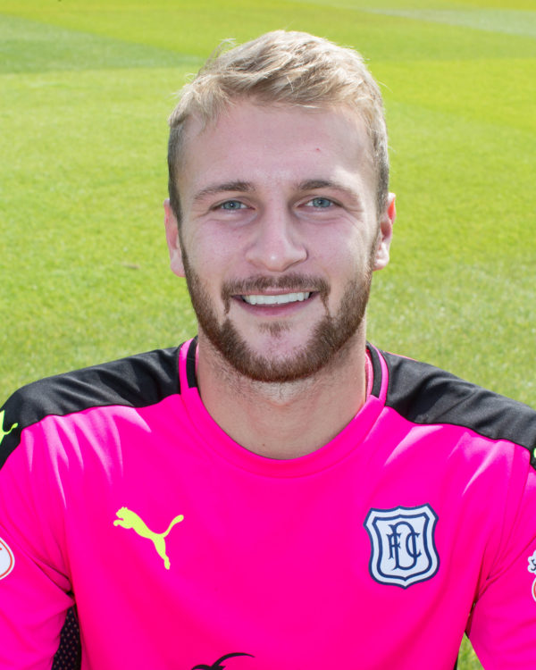 Dundee keeper Scott Bain - Dundee FC photo-shoot at Dens Park   - © David Young - www.davidyoungphoto.co.uk - email: davidyoungphoto@gmail.com