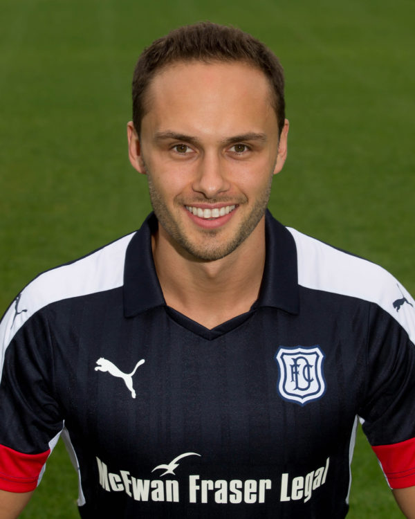 Dundee FC new signing Tom Hateley pictured at Dens Park, Dundee - Photo: David Young   - © David Young - www.davidyoungphoto.co.uk - email: davidyoungphoto@gmail.com