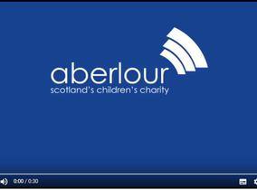Screengrab of Aberlour TV advert