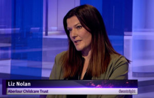 Liz Nolan on STV