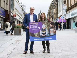 Attain Renfrewshire launch in Paisley High Street for Aberlour