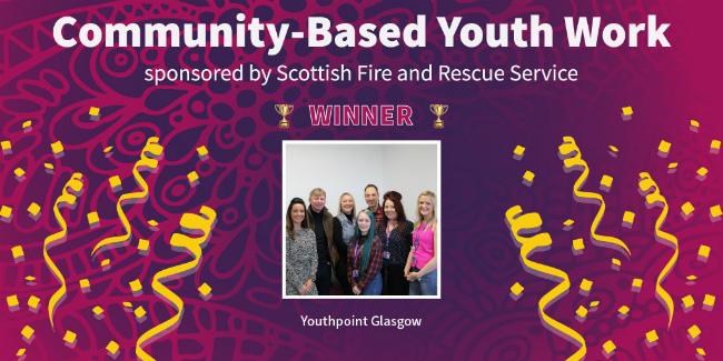 aberlour wins community youth work team of year