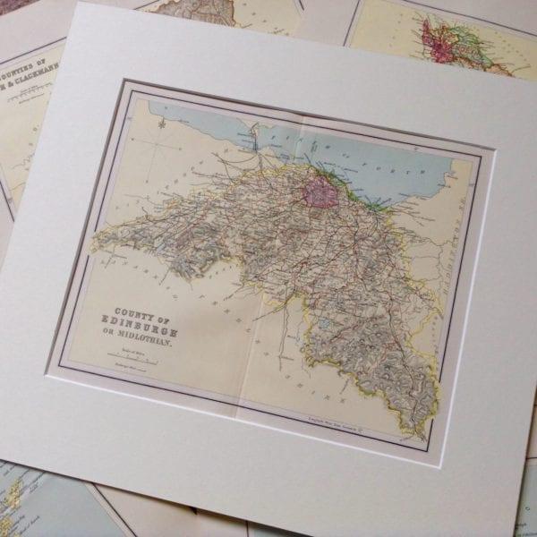 County of Edinburgh or Midlothian