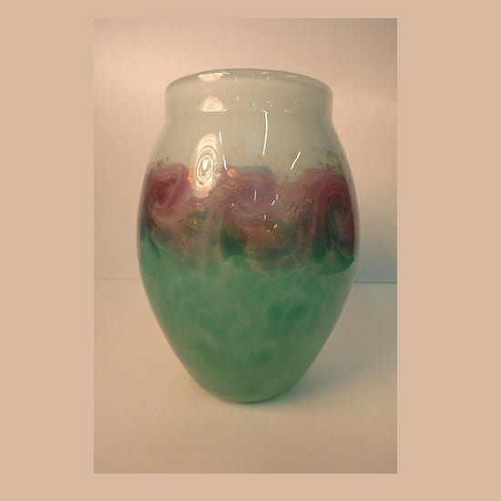 Monart Glass Vase – 1930