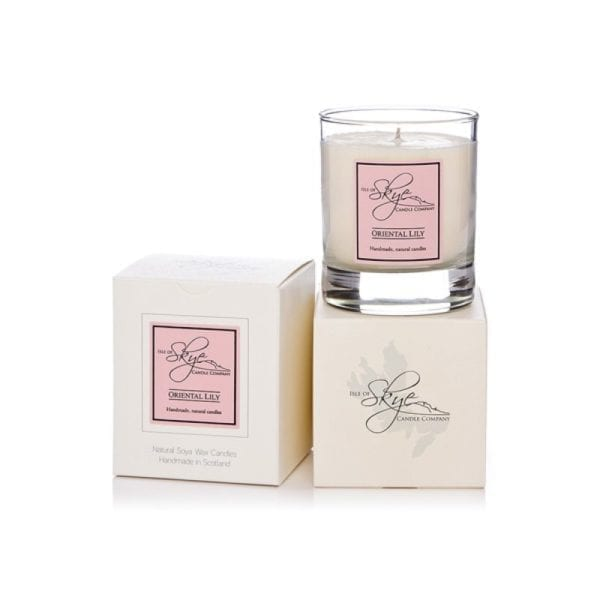 Oriental Lily Soy Candle (Small) from the Isle of Skye Candle Company