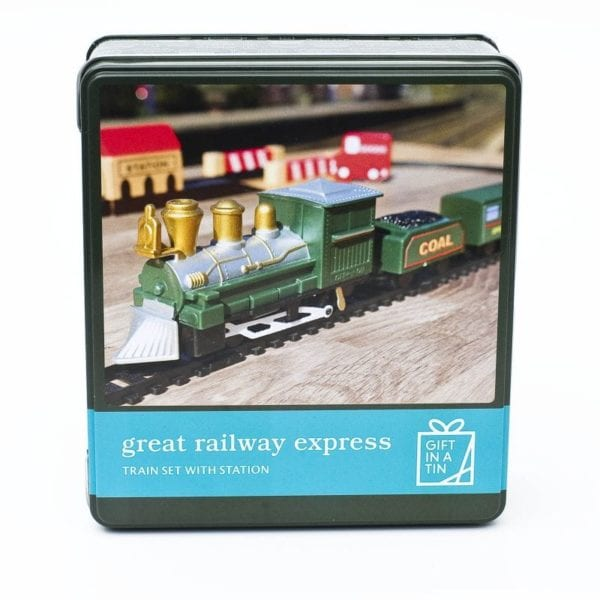 Gifts In A Tin – The Great Railway Express