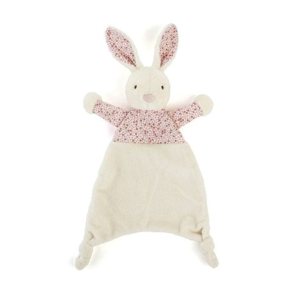 Jellycat Soft Petal Bunny Soother Blanket