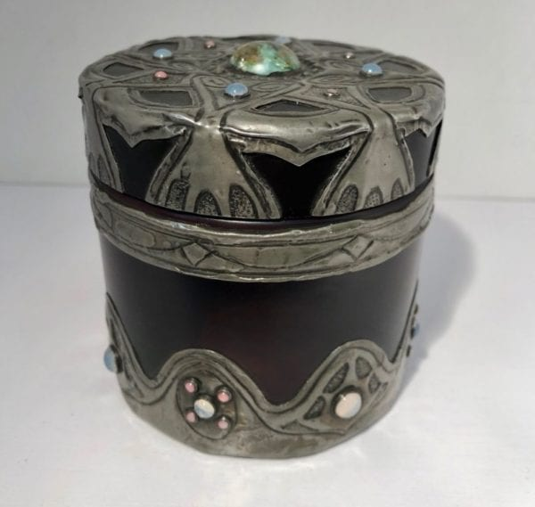 Art nouveau decorative box