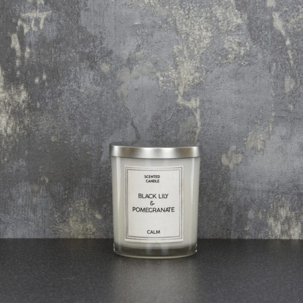 Small Scented Double Wick Glass Candles – 130g