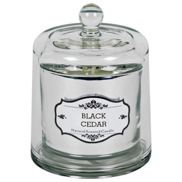 Natural Scented Bell Jar Candle – Large