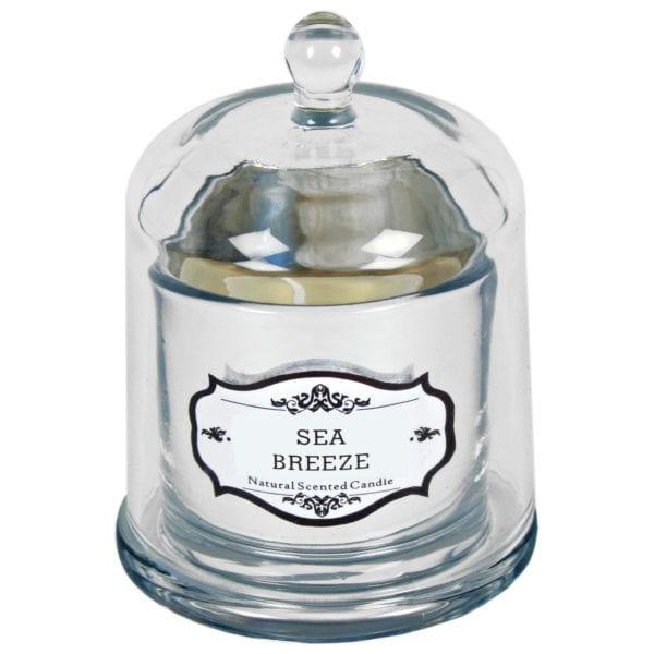 Natural Scented Bell Jar Candle – Medium