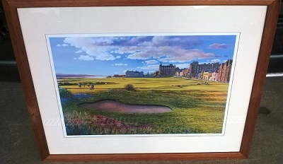 Golf Print-Old Course