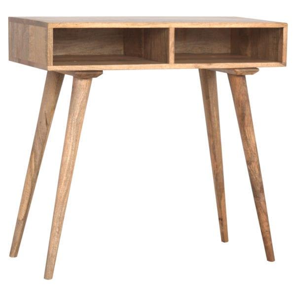 Nordic Style Open Shelf Writing Desk