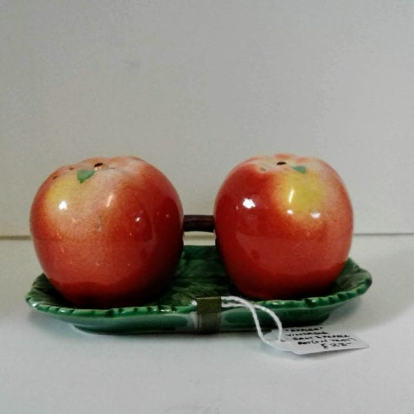 Vintage Apple Shaped Cruet Set