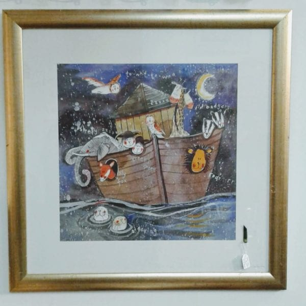 Framed print – Jolly ark in the dark
