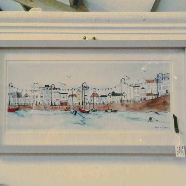 Cheerful seaside print 2