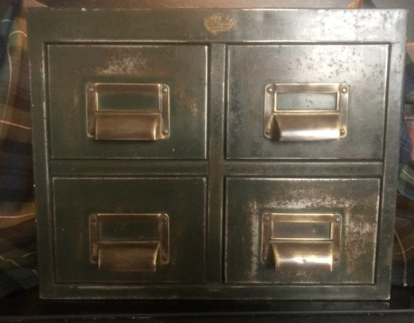 1930's Industrialists Filing Cabinet