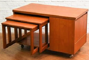McIntosh Tristor Teak Multi-purpose table.