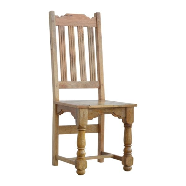 Solid Wood Farmhouse Dining Chairs (Pair)