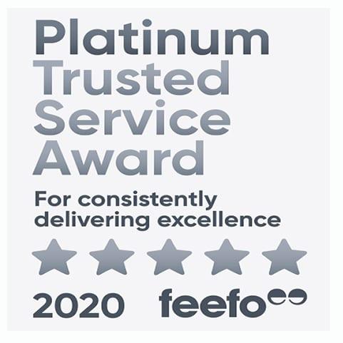 FEEFO Gold trusted service logo