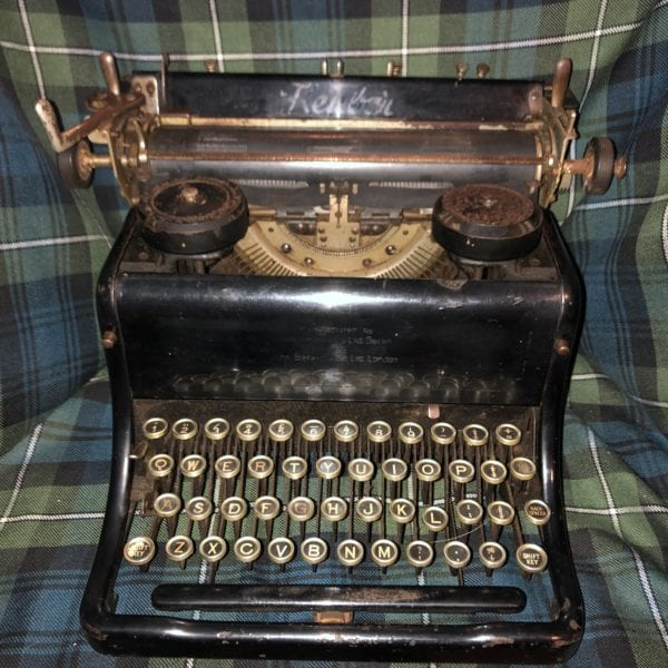 1920's Kenbar Typewriter