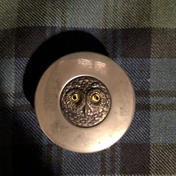Owl Snuff Box