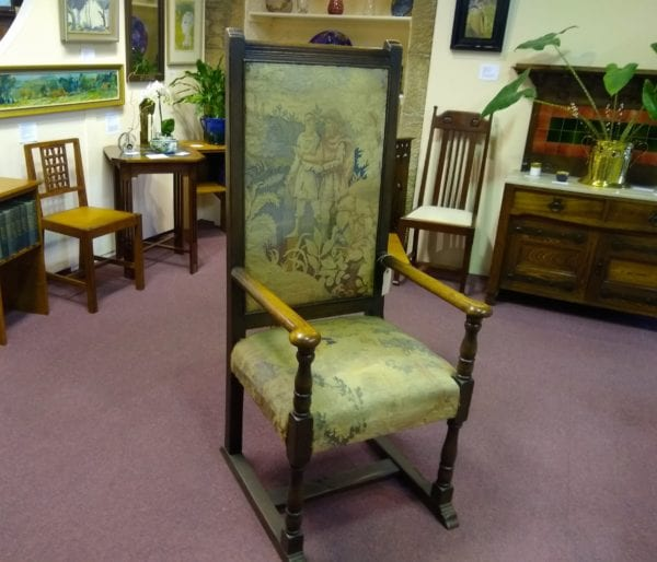 Large Tapestry Chair