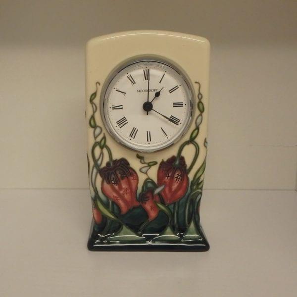 Moorcroft Clock – Pretty Penny