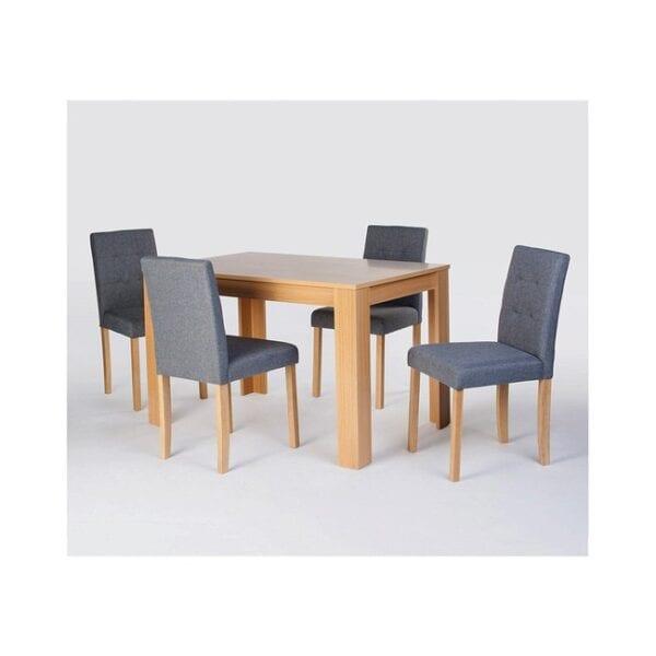 Braemar Oak Dining Set