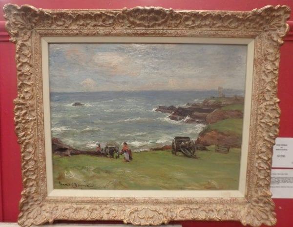 Near Dunbar – Oil On Canvas by Patrick Downie