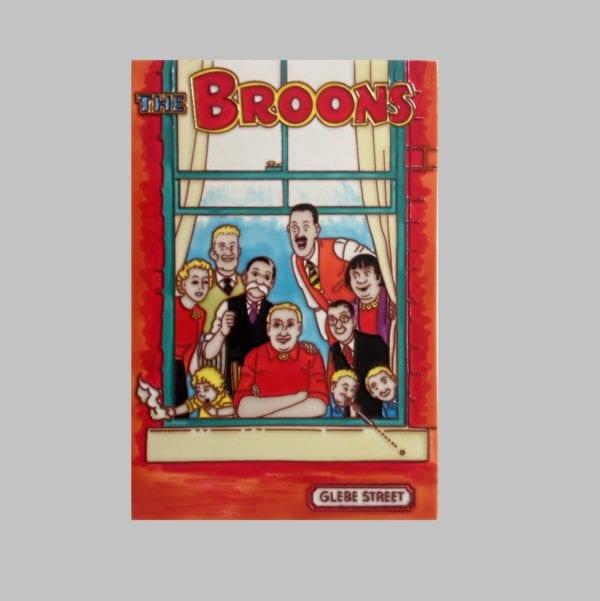 "Ceramic Art Tile – The Broons ""Through The Window"""