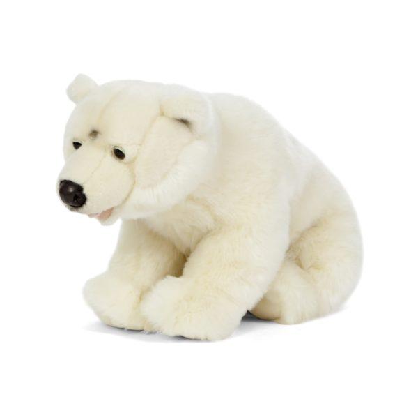 Living Nature Large Polar Bear Soft Toy