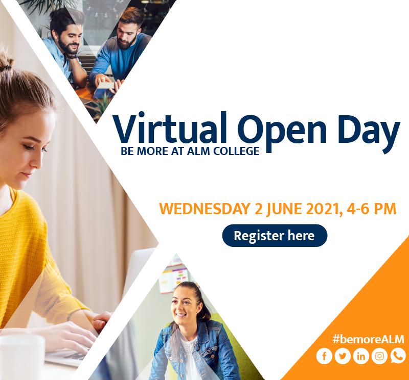 Virtual Open Day 2 June 2021