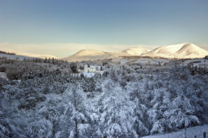 Blair Castle Winter