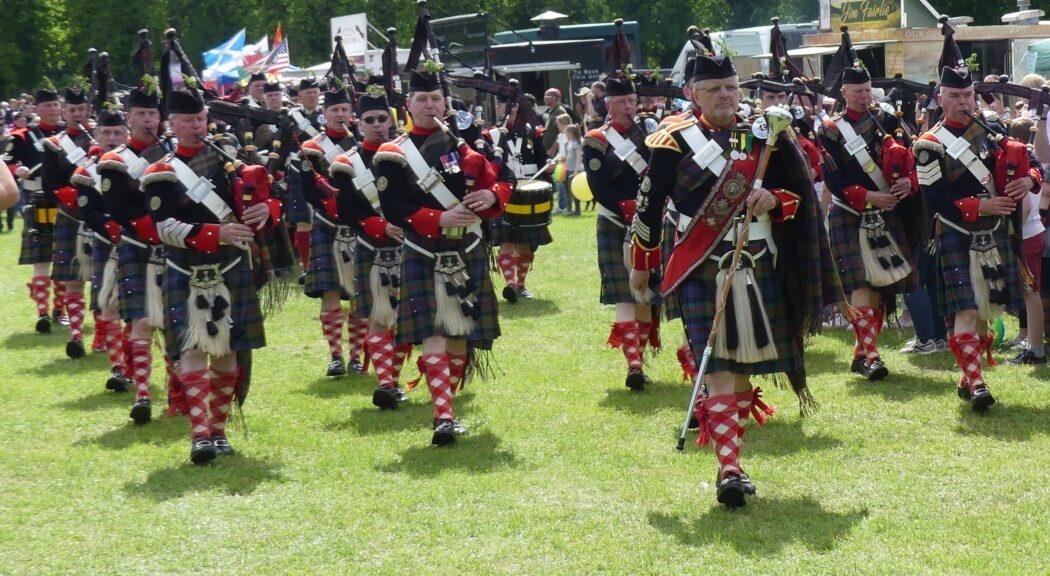 Atholl Highlanders at Blair Castle