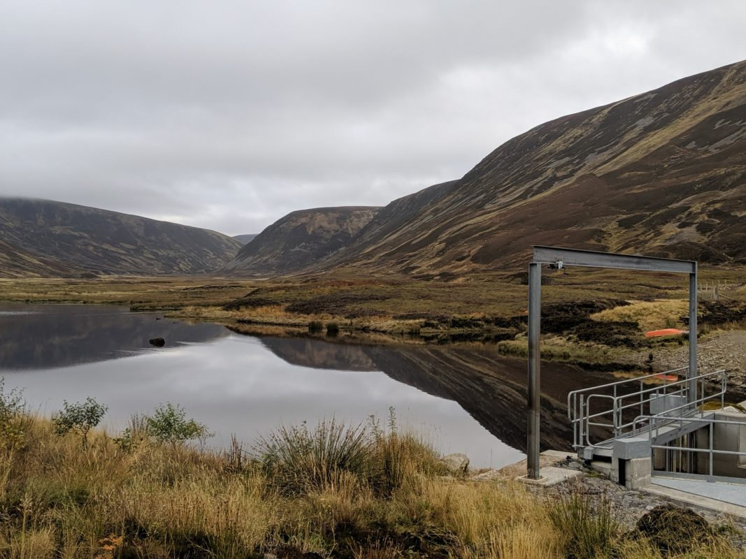 Hydroelectric scheme at Atholl Estates Renewable Energy
