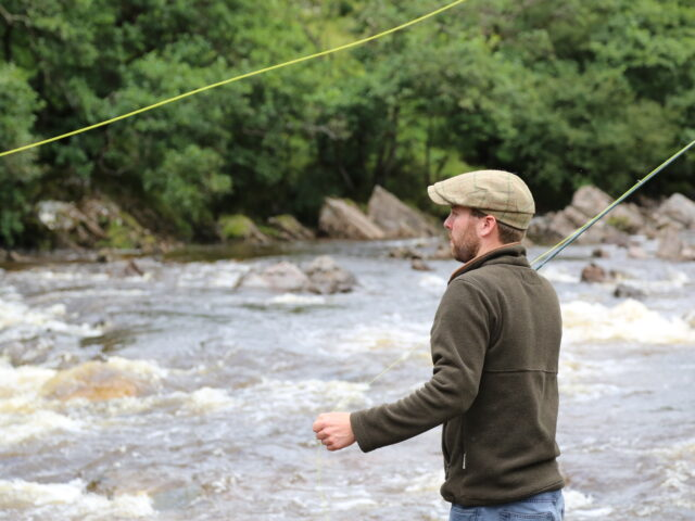 Fishing River Garry