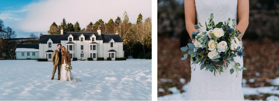 Highland lodge weddings Atholl Estates
