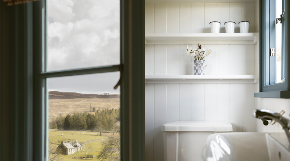 Shepherds' Huts for glamping on Atholl Estates, Highland Perthshire