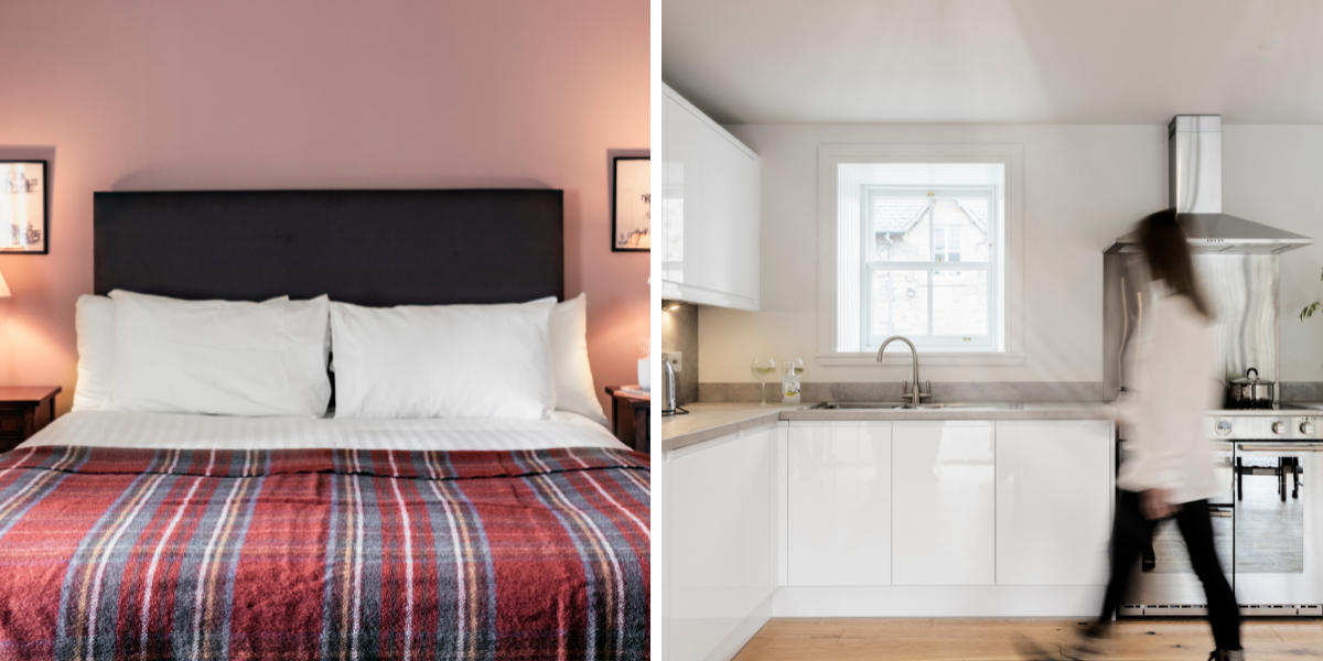 Luxury holiday accommodation in Highland Perthshire