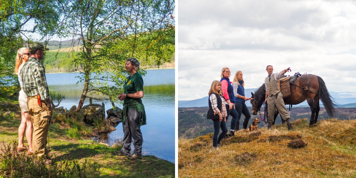 Beaver tours and pony picnics in Highland Perthshire