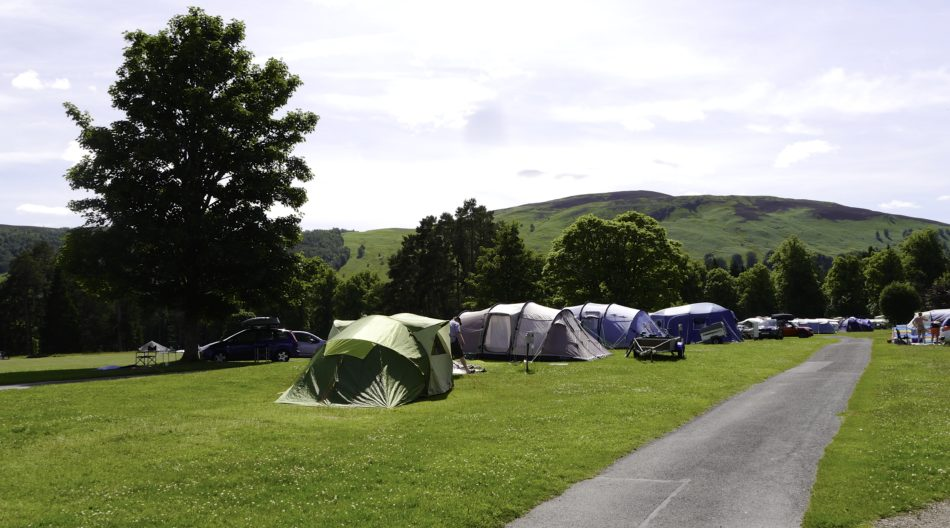 Caravan Stay UK Blair Castle, Atholl Estates Site Camping