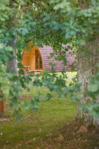 Blair Castle Camping Pod Perthshire