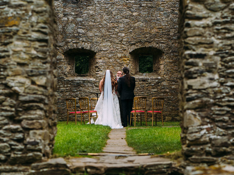 wedding at St Brides Kirk Atholl Estates