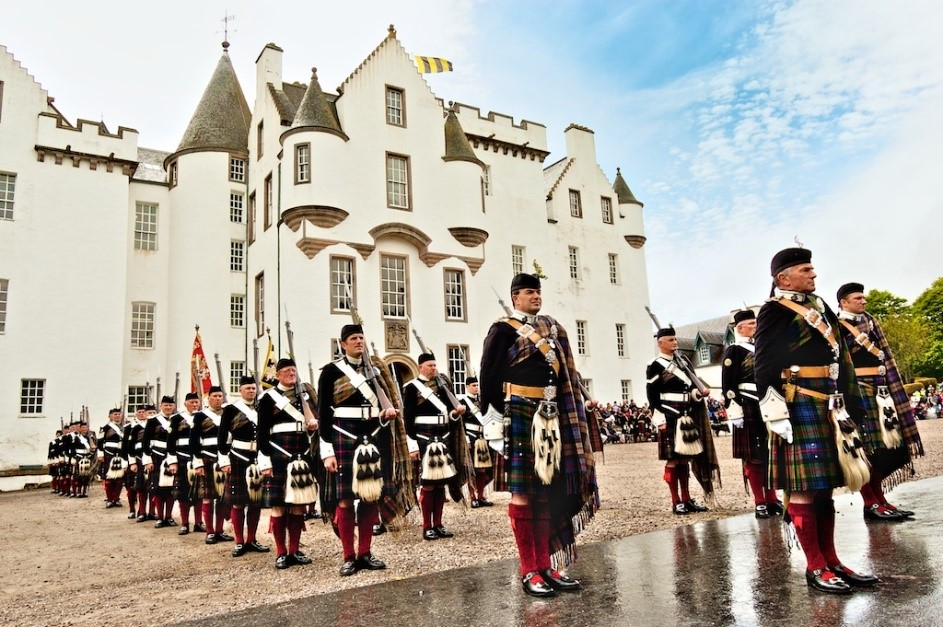 Atholl-Highlanders-history-Blair-Castle