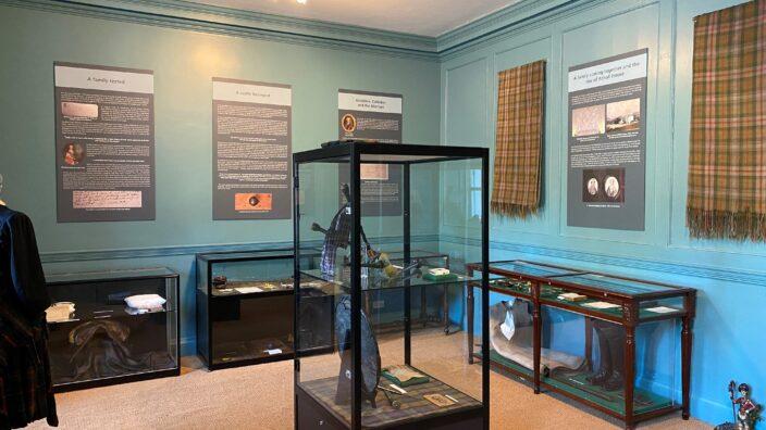 Jacobite exhibition at Blair Castle, Perthshire