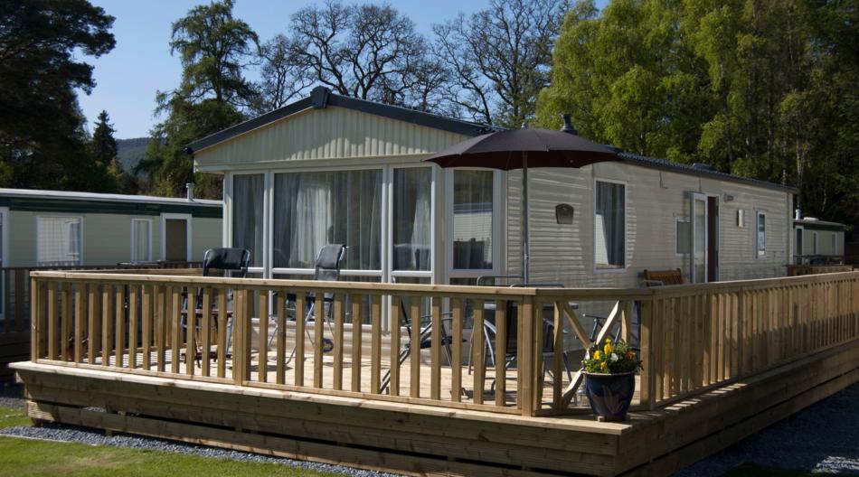 caravan holiday homes for sale at Blair Castle Caravan Park