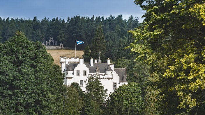 Blair Castle view Highland Perthshire