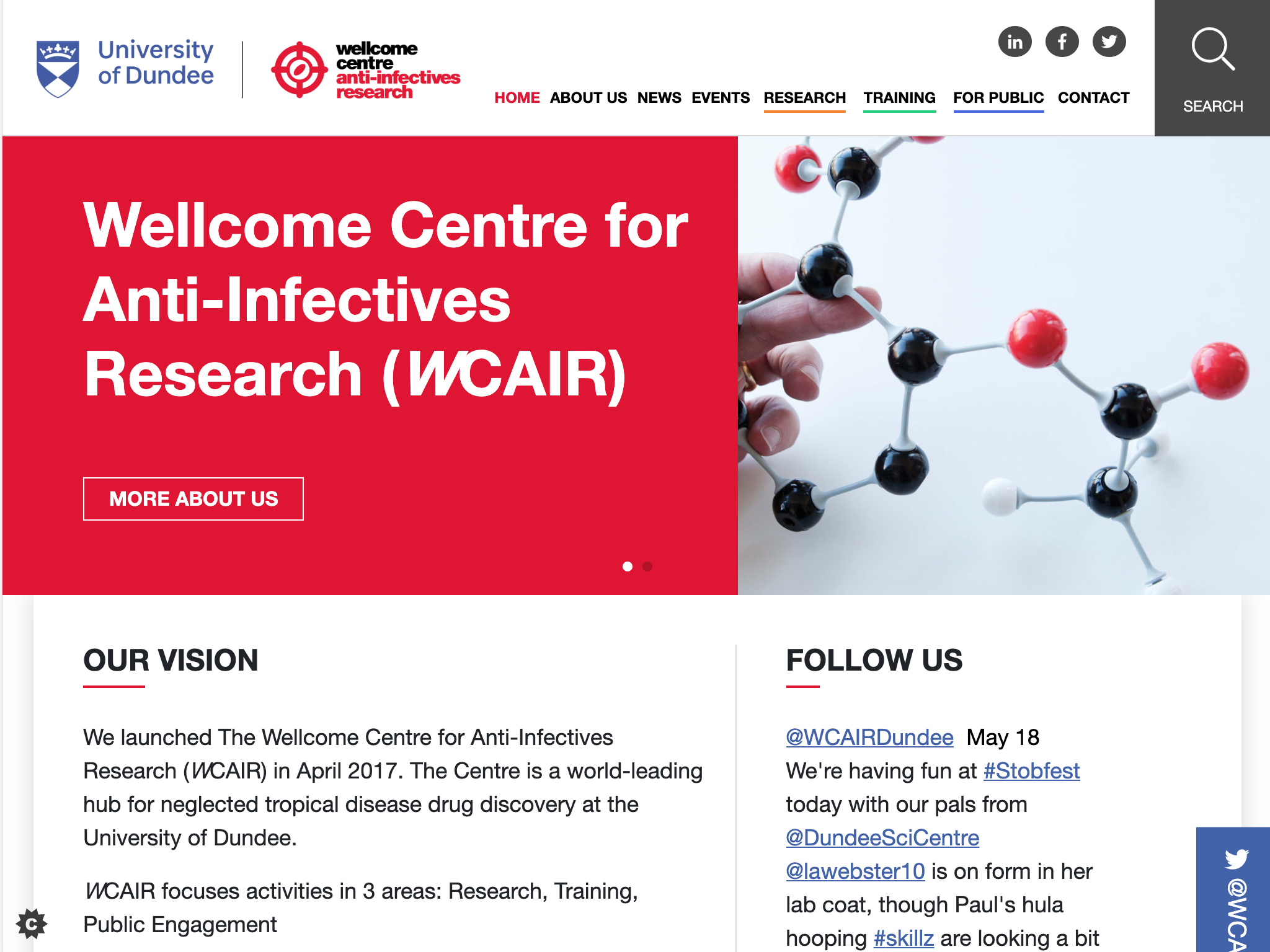 WCAIR Website