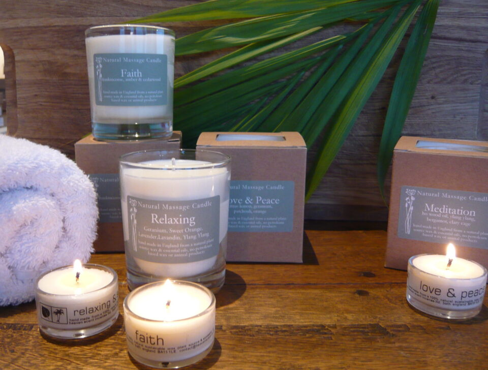 Heaven Scent | Massage Candles